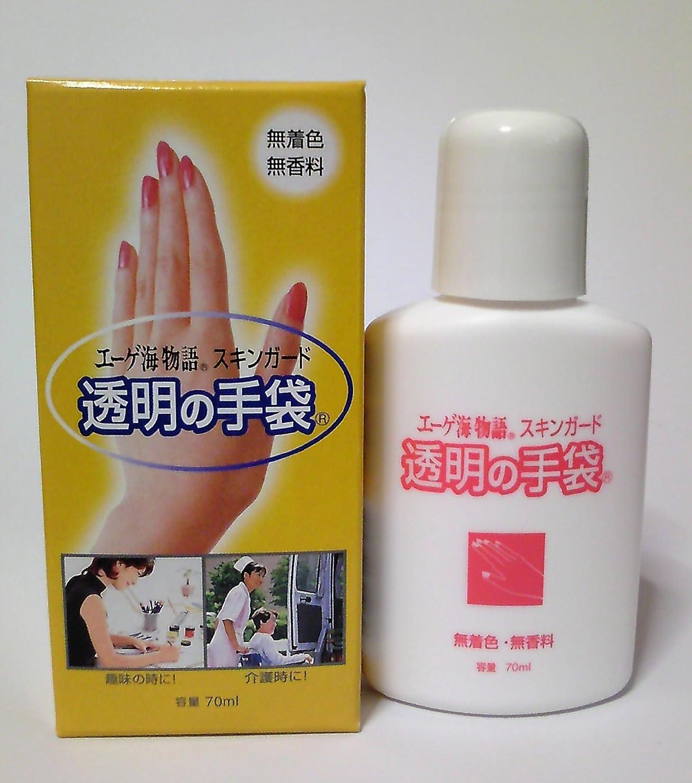 二次結論スリットスキンガード 透明の手袋 ハンドクリーム