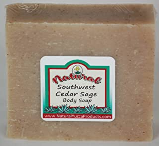 Natural Yucca Products Southwest Cedar Sage Soap
