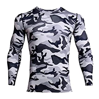 digital camo compression shirt