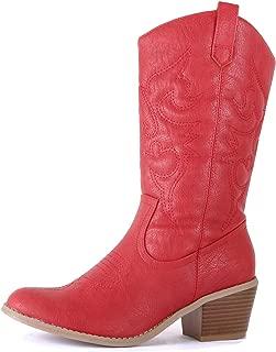 Best orange cowboy boots Reviews