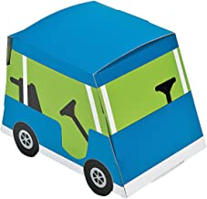 Fun Express - Golf PaR-Tee Favor Boxes for Birthday - Party Supplies - Containers & Boxes - Paper Boxes - Birthday - 12 Pieces