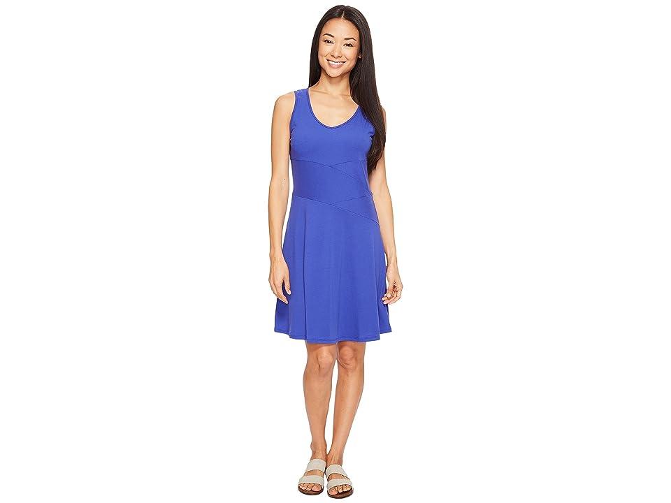 Prana Amelie Dress (Cobalt) Women