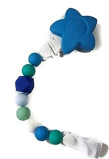 Clip Porta Chupon Mordedera Yomi Jewels - Azul