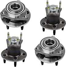 Bodeman - (4) Front and Rear Driver Passenger Side Wheel Hub & Bearing Assembly for 2004 2005 2006 2007 Chevy Malibu/ 2005-2007 Pontiac G6 - Non ABS
