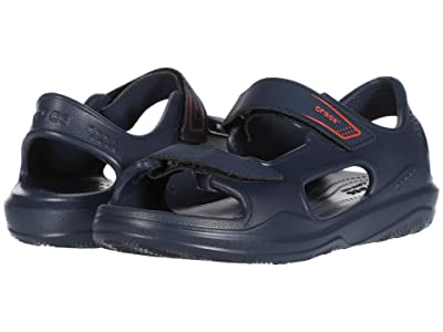 Crocs Kids Swiftwatertm Expedition Sandal (Toddler/Little Kid/Big Kid) (Navy/Navy) Kid