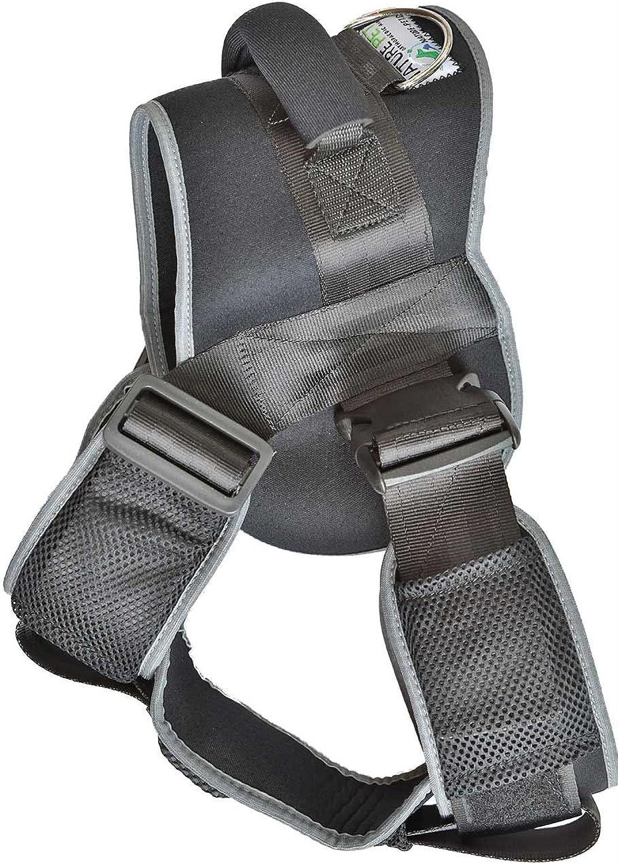 NATURE PET Dog Safety Harness for Cars NoPull Dog Harness Adjustable Outdoor Pet Vest (XXS)