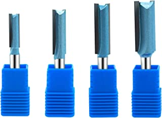 Best two flute straight router bit Reviews