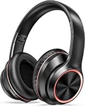 LETSCOM Active Noise Cancelling Headphones, Wireless Over-Ear Headphones, Bluetooth Headphones with Microphone, 35H Playti...
