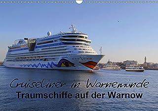 Cruiseliner in Warnemünde (Wandkalender 2021 DIN A3 quer)