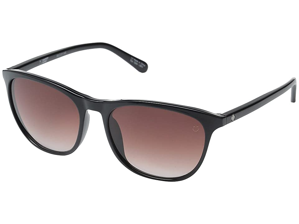 Spy Optic Cameo (Black/Happy Merlot Fade) Athletic Performance Sport Sunglasses