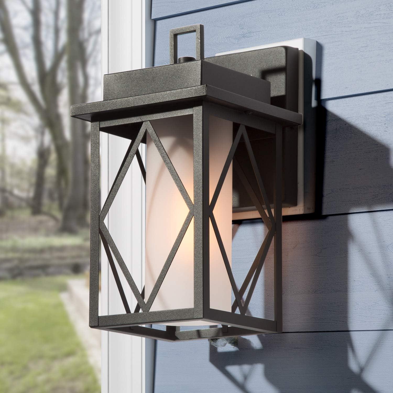 """LOG BARN Outdoor Wall Lantern Cheap Exterior Light 11"""" Fixt discount"""