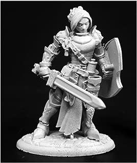 Reaper Merrowyn Lightstar, Female Elf Paladin #03764 Dark Heaven Unpainted Mini