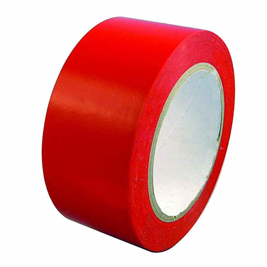 Bon 84-244 PVC Specialty Vinyl Stucco Tape, 180-Feet by 2-Inch, Red