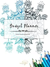 Budget Planner: Home Finance Journal (Mandala Style Adult Coloring) (Volume 1)