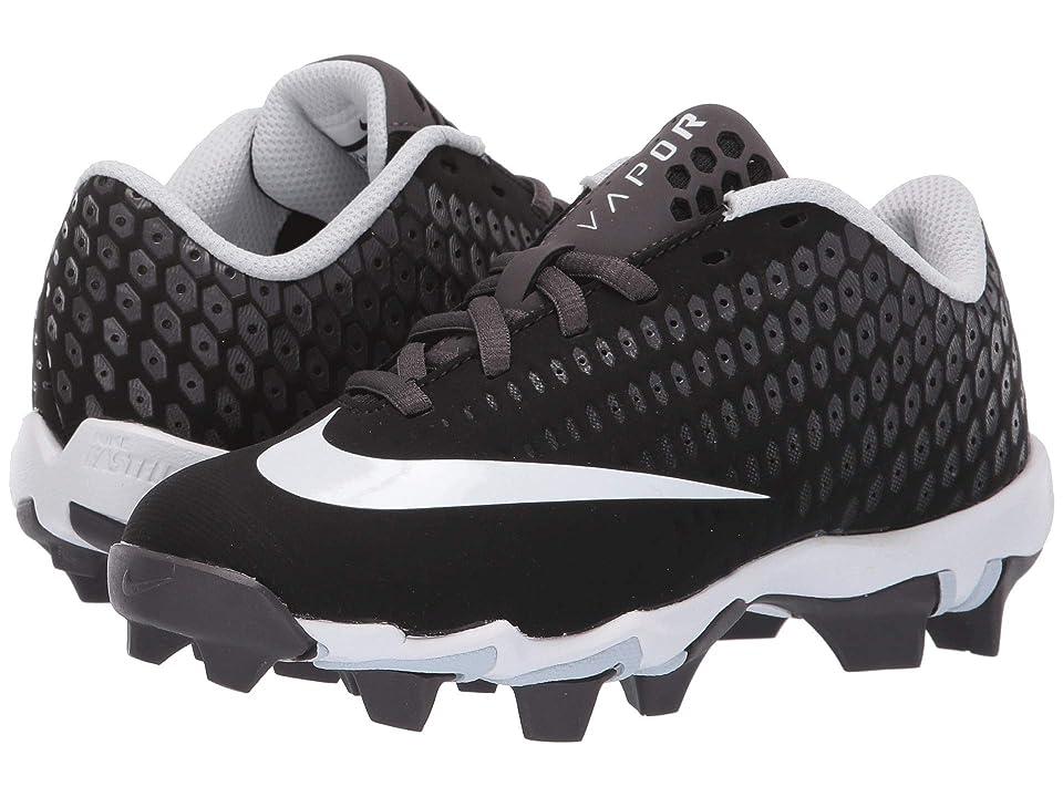 Nike Kids Vapor Ultrafly 2 Keystone WD Baseball (Toddler/Little Kid/Big Kid) (Black/White/Thunder Grey/Pure Platinum) Boys Shoes