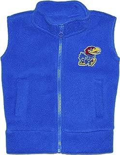 Creative Knitwear University of Kansas Jayhawks Baby and Toddler Polar Fleece Vest