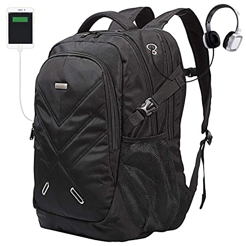 a801b7b478e Backpack for Laptops Up to 18.4 Inch Hiking Backpack Water Resistant Travel  Computer Backpack Shockproof Laptop