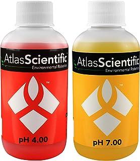 Atlas Scientific pH Calibration Solution 4.00 & 7.00 125ml - 4oz (Pack of 2)