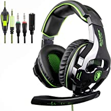 [2018 SADES SA810 Neues Xbox one mic PS4 Gaming Headset] 3,5 mm Wired Over Ear Xbox Ein..
