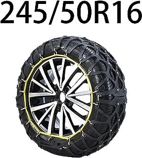 HEIFEN Car Snow Chain, Car SUV Winter Emergency Winter Muddy Oxford Tire Width 205-255 Multiple Models