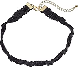 Steve Madden Rope Knot Textured Choker Necklace