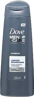 Shampoo Uso Diário 200Ml Men Care Limpeza Refrescante Unit, Dove