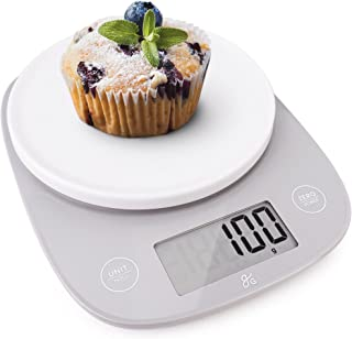 Greater Goods Kitchen Table Top Scale   Our Ultra Accurate Model, Perfect for Weighing Food and Coffee, for Nutrition and ...