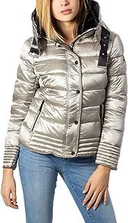 NO ZONE Luxury Fashion Womens REINA19SILVER Silver Down Jacket | Fall Winter 19