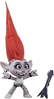 DREAMWORKS TROLLS World Tour Barb, Collectible Doll with Guitar Accessory, Toy Figure Inspired by The Movie Trolls World Tour