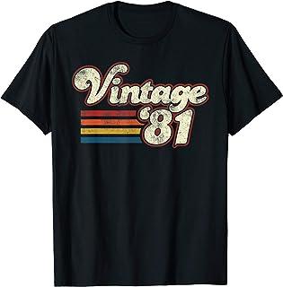 Vintage 1981 39th Birthday T-Shirt