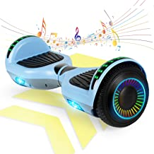 """FLYING-ANT Hoverboard w/Bluetooth Speaker Self Balancing Scooter Two 6.5"""" Flashing Wheels UL2272 Certified Outdoor Sports ..."""
