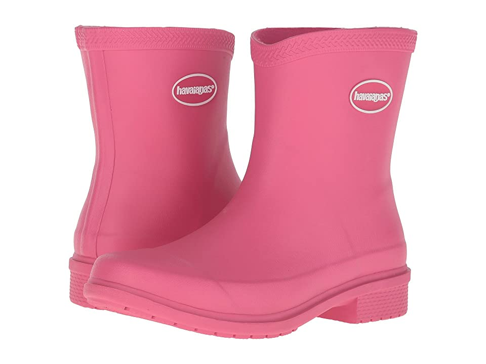 Havaianas Galochas Low Matte Rain Boot (Rose) Women