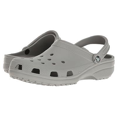 Crocs Classic Clog (Light Grey) Clog Shoes