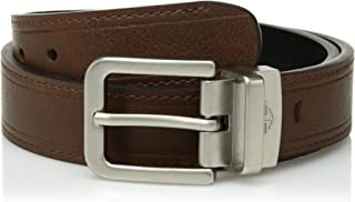 Dockers Big Boys' Reversible Casual Belt with Double Stitch