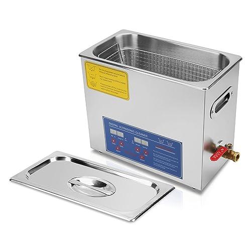 TravelerK Nettoyeur à Ultrasons Appareil 6L Ultrasonic Cleaner Nettoyeur Digital Affichage Ultrasonique (6 L)
