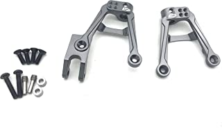 ATOP RC Aluminum Front Shock Damper Tower Mount Hoops for AXIAL SCX10 II (Titanium)