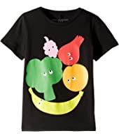 Stella McCartney Kids - Veg and Fruit Short Sleeve Tee Early (Toddler/Little Kids/Big Kids)