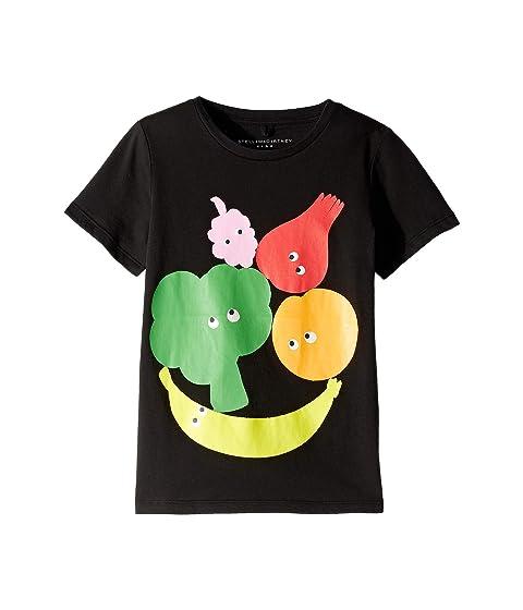 7079f3d49 Stella McCartney Kids Veg and Fruit Short Sleeve Tee Early (Toddler/Little  Kids/Big Kids)