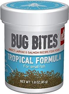 Fluval Bug Bites Tropical Formula for Small to Medium Fish, 1.59 oz