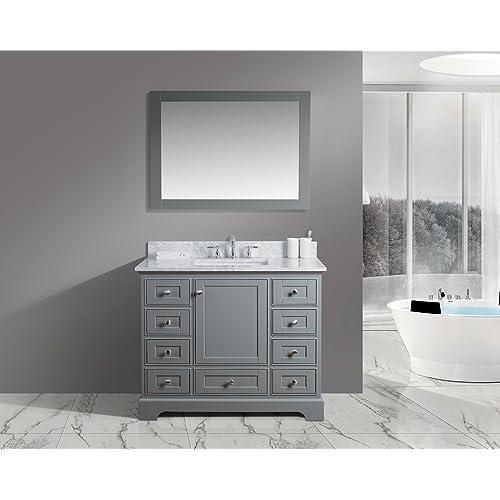 Gray Bathroom Vanities: Amazon.com