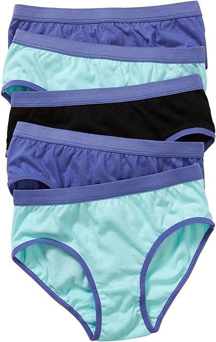 Hanes Girls Underwear Cotton Brief (5 Pack)