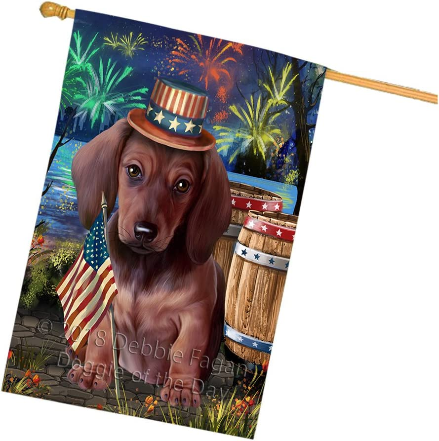 4th Ranking TOP19 67% OFF of fixed price of July Independence Day Fireworks Dog Lake at The Dachshund