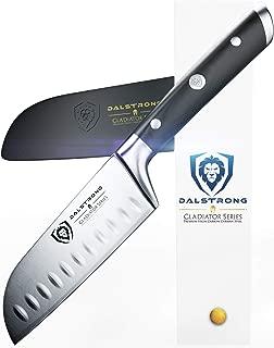 DALSTRONG Santoku Knife - Small - Gladiator Series - German HC Steel - 5
