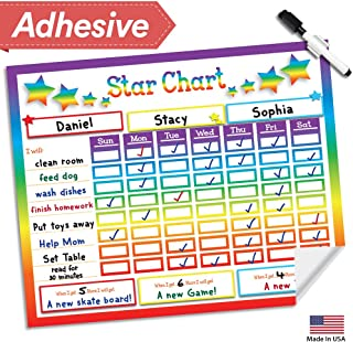 Dry Erase Reward Chore Chart - 16
