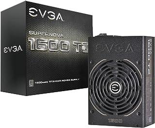 EVGA SuperNOVA 1600 T2, 80+ TITANIUM 1600W, Fully Modular, ECO Mode, 10 Year Warranty, Includes FREE Power On Self Tester,...