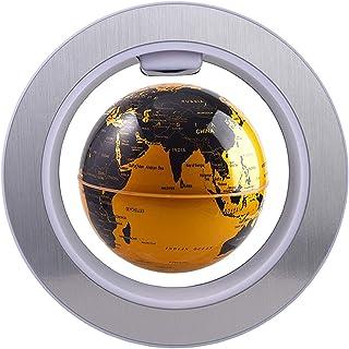 DYJD Globe Flottant magnétique, avec Lampes à LED et Mouvement de Rotation Lévitations magnétiques Globe Flottant pour la ...