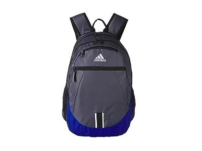 adidas Foundation V Backpack (Onix/Collegiate Royal/Black) Backpack Bags