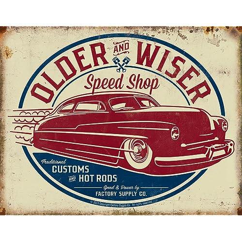 reproduction vintage automotive signs