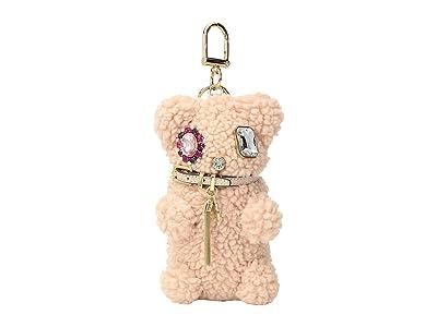 Tory Burch Bear Key Fob (Pink Peony) Wallet