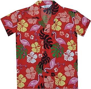 Venta Camisa Hawaiana de estilo chino con estampado grúa